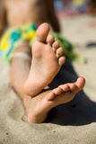 Little feet Stock Photography