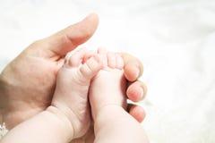 Little feet Stock Image
