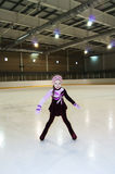 Little Figure Skater Stock Image