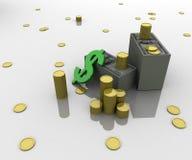 Little finance Stock Image