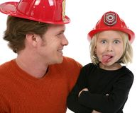 Little Fire Fighter stock photography