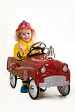 Little fireman Stock Photos