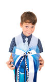 Little first grader Royalty Free Stock Images