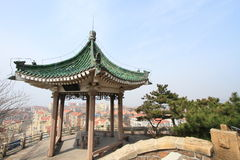 Little Fish Hill garden of Qingdao, China Royalty Free Stock Images