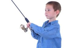 A Little Fishing stock photography