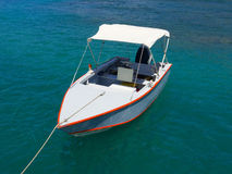 A little fishing boat in the windward islands Royalty Free Stock Photos