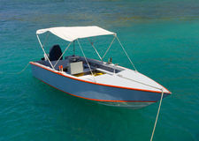 A little fishing boat in the windward islands Stock Photography
