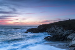 Little Fistral in Newquay Royalty Free Stock Image