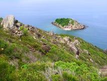 Little Fitzroy Island - Australia. View of Little Fitzroy Island from Fitzroy Island in Queensland, Australia Stock Photography