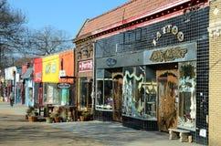 Little Five Points. An artistic community, in Atlanta, Georgia Stock Image