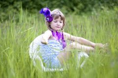Little flapper Stock Photography