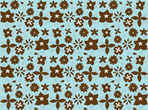 Little Flowers Wallpaper Royalty Free Stock Image