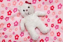 Little fluffy teddy bear Stock Images