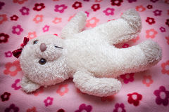 Little fluffy teddy bear Stock Images