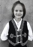 Little Folklorico Dancer. Portrait of a young folklorico dancer Stock Images