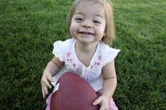Little Football fun Royalty Free Stock Photography