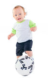 Little football player Royalty Free Stock Photo