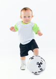 Little football player Stock Images