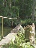 Little Footbridge Royalty Free Stock Image