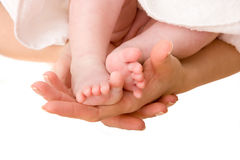 Little foots Stock Image