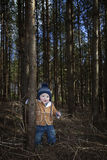 Little forester Royalty Free Stock Images