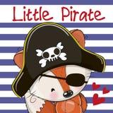 Little Fox Pirate Stock Photos