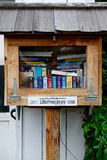 Little Free Library Stock Photo