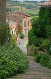Little french village Stock Photography