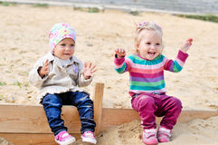 Little frieds Royalty Free Stock Image