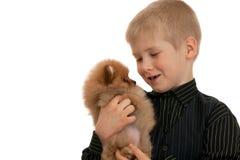 Little friend Stock Image