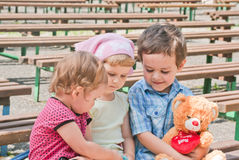 Little friends Stock Photography