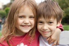 Little friends Stock Images