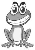 Little frog with happy face Stock Photo