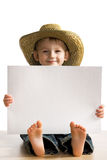 Little fun boy royalty free stock image