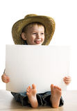 Little fun boy Stock Photography