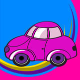 Little funky car Royalty Free Stock Image