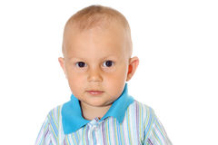 Little funny baby boy Stock Image