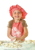 Little funny baker Royalty Free Stock Photo