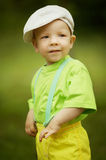 Little funny boy portrait Royalty Free Stock Images