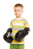 Little funny boy Stock Photography