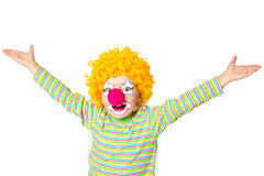 Little funny clown Royalty Free Stock Image
