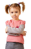 Little funny girl Stock Photography