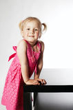 Little funny girl portrait Royalty Free Stock Photography