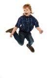 Little funny redhead boy Stock Image