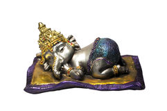 Little Ganesh sleeping Stock Photos