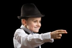 Little gangster Royalty Free Stock Image