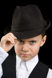 Little gangster Royalty Free Stock Photos