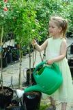 Little gardener Stock Photography