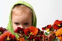 Little gardener Royalty Free Stock Photography