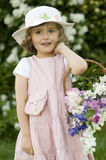 Little gardener Royalty Free Stock Photo